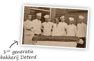 Bakkerij Deterd generatie bakkers
